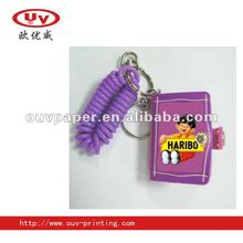 Soft pvc biscuit promotional notebook