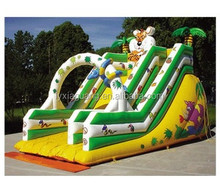 2015 summer fashionable Children and adults like best water sports hippo inflatable water slide