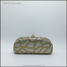 Top quality swaroski crystal handbag USA America women young lady pattern crystal clutch bag TFC1562