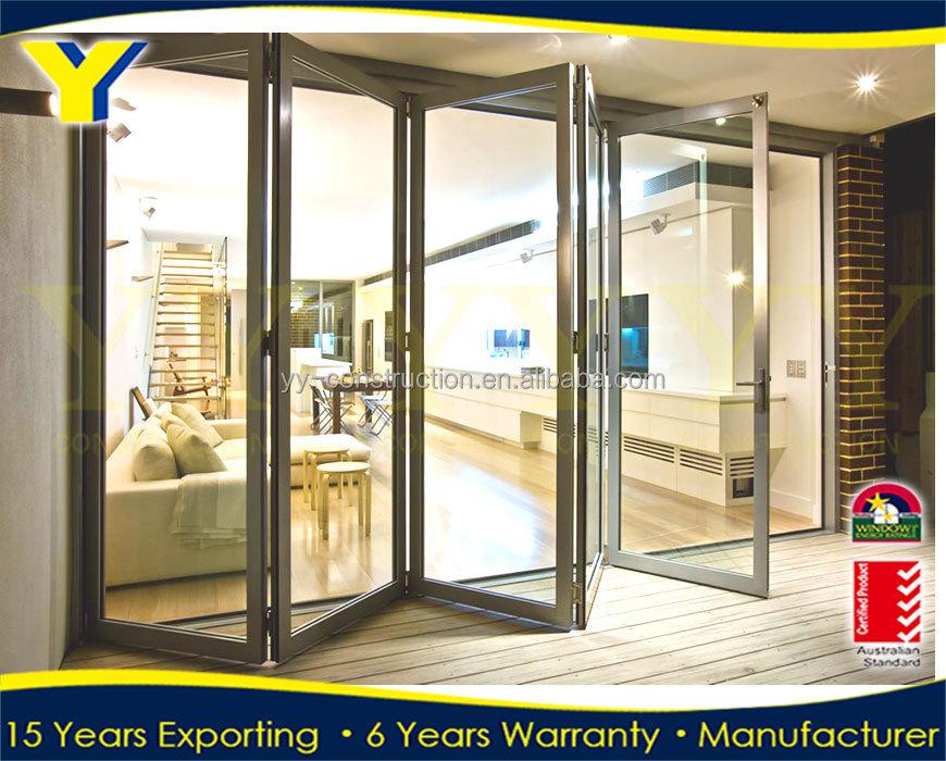 Pliante en aluminium portes pliante patio fran ais portes verre portes de douche portes id - Porte de garage pliante ...
