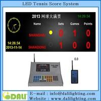 New advertising led digital tableau de board tennis scoreboard scorer