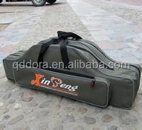 2014 new style canvas waterproof fishing rod bag fly fishing bag