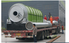 Best quality waste tyre plastic pyrolysis equipment