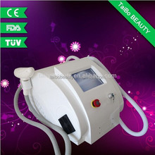 Taibo Beauty !! Factory Wholesale Elight+SHR+nd yag laser for hair removal,tattoo removal