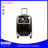 2015 Expandable best designer PU trolley suitcase travel time luggage travel bag