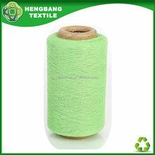 Fabricante 20 s jersey de color verde hilo de algodón HB585 in China