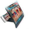 magnifying screen for mobile phone ,foladble 3D enlarge screen bracket for iphone