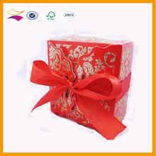 Hot sale cardboard wedding candy girl box with custom logo