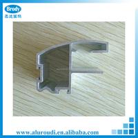 Customed Square shape Aluminum Curtain Wall Profile