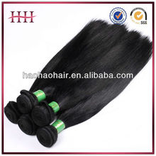unprocessed 100% virgin indian curly wavy and straight hair weave weft