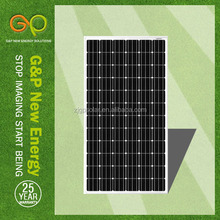 250w monocrystalline solar panel cost for home system price with junction box for off-grid system made in china with TUV/CE
