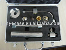 aluminum tool box for welding tools with customized sponge foam