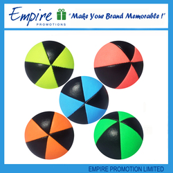 Customized Top Quality Logo Printed Promotional bulk juggling ball