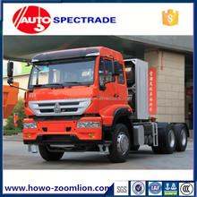 tractor trailer truck Tractor head head tractor truck golden prince Sinotruk