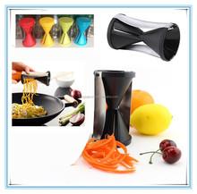 Hot Spiral Shred Vegetable Fruit Cutter Spiralizer Julienne Twister Kitchen Tool
