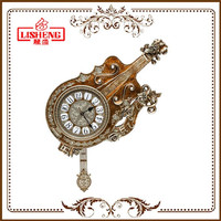 Art Polyresin retro wall clocks H211KY