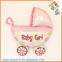 Foil baby carriage balloons,baby shower party decorations