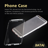 Silicone Clear Transparent Crystal Soft tpu printing mobile phone case for paintable plastic case for iphone 5
