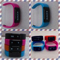 Bluetooth sport bracelets/pedometer with mobile phone APP