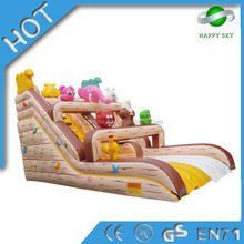Best price!!!inflatable moonwalk with slide,inflatable giant slide for adult,large inflatable slides