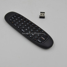 2.4GHz Mouse A1 Rechargeable Wireless GYRO Air Fly Mouse Keyboard for Android TV Box Computer