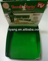 coated paper packaging gift box with cradle and sleeve