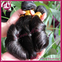 2015 no tangle no shedding new arrival natural color 100% human hair extension 16inch fummi curl hair
