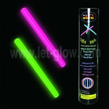 Multiple color glowstick super value pack with free connectors