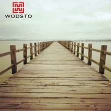 Wind resistant sun drying old boat series engineered flooring as a landscape
