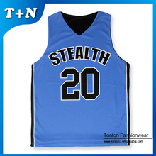 reversible team custom sublimated basketball jersey/uniform with design
