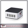 UK,EU,US,AU,KC plugs custom 5 usb mobile phone battery charger, USB Power Adaptor With OEM & ODM Service
