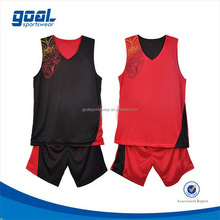 Quick dry make your own dry fit basketball uniform design