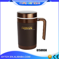 Hot-Selling high quality low price decorative coffe cup(Stainless inside / plastic out side)