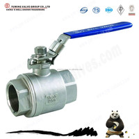 API 2PC Natural Gas stainless steel Ball Valve