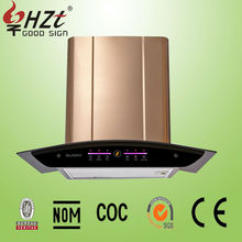 2015 best selling wall mounted installation kitchen hood vent hoods