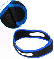 2015 hot selling easy sleep cheap Anti snore chin strap, neoperene snore stop strap