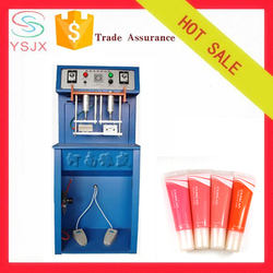 Pedal control coding plastic cosmetic tube tail sealing machine