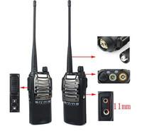 Free shipping DHL Dual Band uhf 400-470mhz antenna Two Way Radio inter phone Walkie Talkie