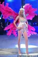 2015 Newst large angel wings Hot Pink angel wings model handmade angel wings cheap angel wings