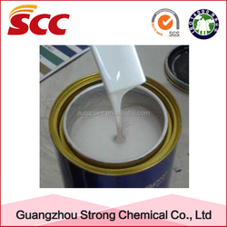 Auto refinish usage and easy-standing silicone coating for car