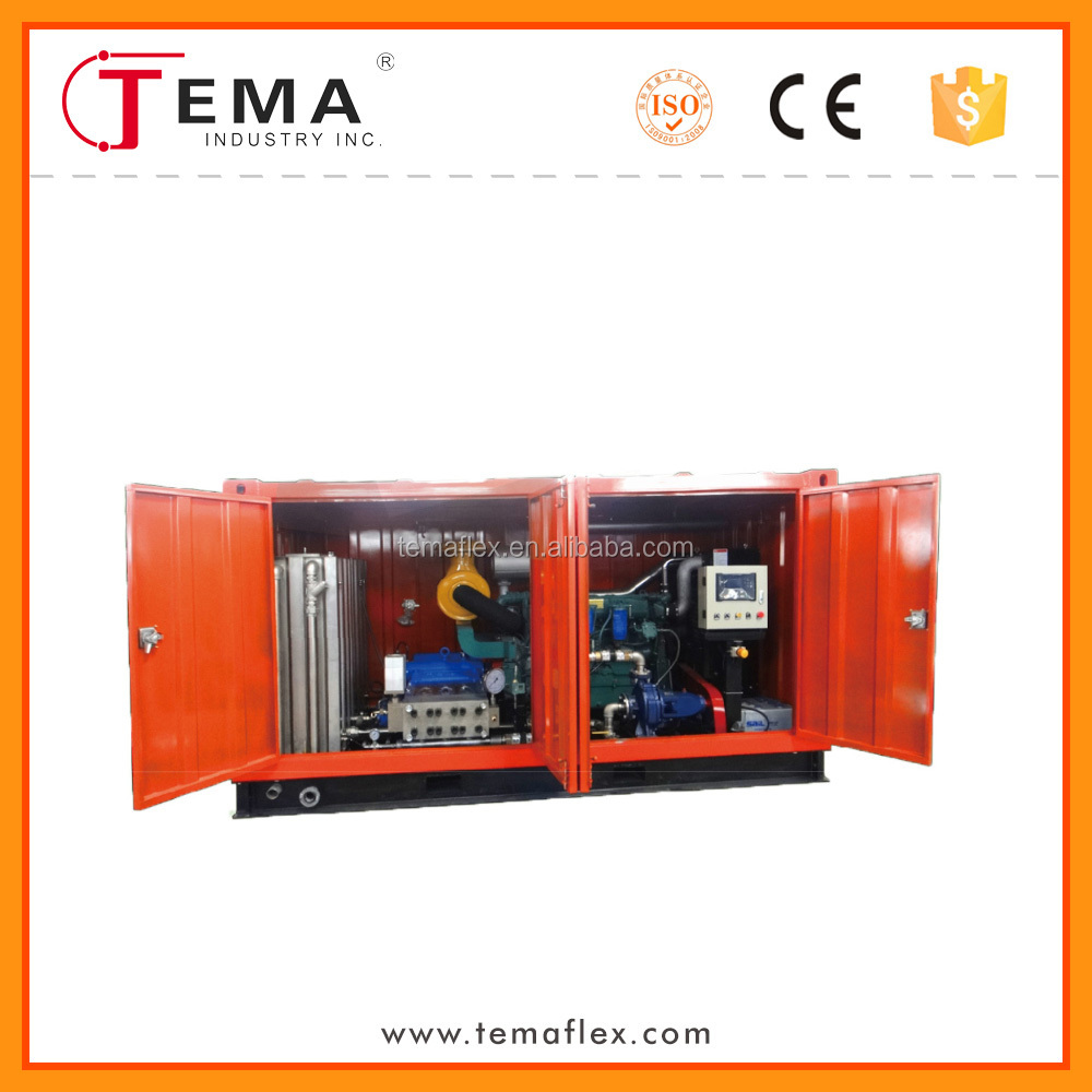 condenser cleaning machine