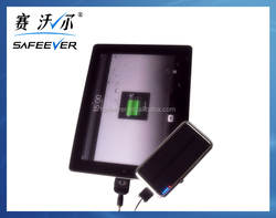 3500 mAh portable mobile solar charger for iphone , mini ipad,Blackberry with CE&ROHS&FCC mobile. solar. charger