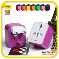 JY-106 Promotion wontravel cooperate multi plug cheap giveaway small gift 2016