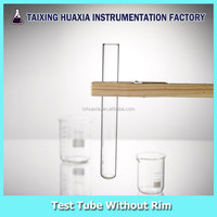 Various sizes and models Glass Test Tube