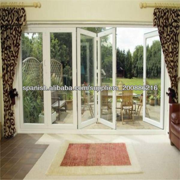 Barato puerta de aluminio puertas correderas plegables - Puertas plegables de aluminio ...