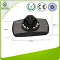 Venta caliente del coche G30 novatek 96220 Chipset fud 1080 p cámara, LED