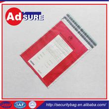 Waterproof tamper proof security bags for wholesale