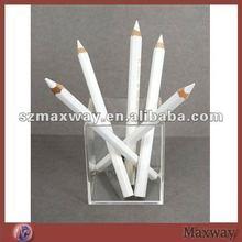 Clear Counter Top Cube Acrylic Pen/Pencil Holder