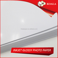 High glossy embossed photo paper 260g A4*20 sheets for Epson Large format printer factory supply