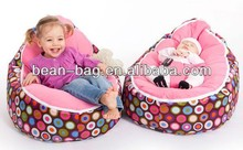 Flowery Printed Baby Bed Bean Bag